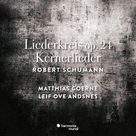 SCHUMANN - LIEDERKREIS OP.24 CD GOERNE