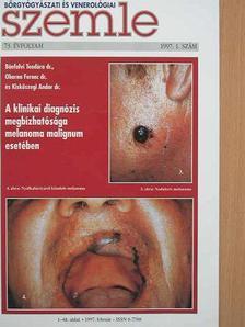 Barabás Éva - Bőrgyógyászati és venerológiai szemle 1997. február [antikvár]
