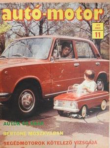 Almássy Tibor - Autó-Motor 1979. június [antikvár]
