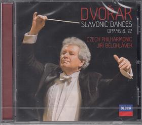 DVORAK - SLAVONIC DANCES OPP.46 C& 72 CD JIRI BELOHLÁVEK