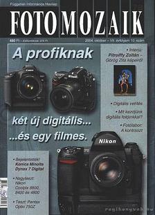 Sulyok László - Foto mozaik 78. 2004. október VII. évfolyam 10. szám [antikvár]
