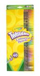 Crayola csavarozható színes ceruza 40 db