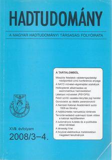 Nagy László - Hadtudomány XVIII. évfolyam 2008/3-4. [antikvár]