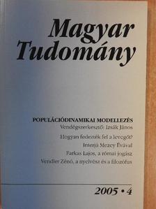 Farkas Miklós - Magyar Tudomány 2005. április [antikvár]