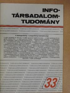 Belyó Pál - Info-Társadalomtudomány 1995. augusztus [antikvár]