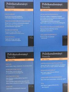 B. Kelemen Ida - Politikatudományi Szemle 2010/1-4. [antikvár]