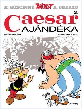 René Goscinny - Asterix 21. - Caesar ajándéka