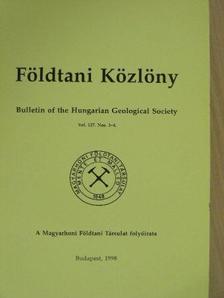 Demény Attila - Földtani Közlöny 1997/3-4. [antikvár]