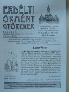 Szigethy Gábor - Erdélyi Örmény Gyökerek Füzetek 2013. december [antikvár]