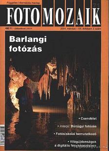 Sulyok László - Foto mozaik 71. 2004. március VII. évfolyam 3. szám [antikvár]