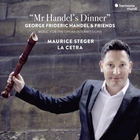 Handel - MR HANDEL'S DINNER CD MAURICE STEGER
