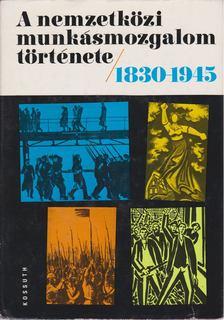 Harsányi Iván - A nemzetközi munkásmozgalom története 1830-1945 [antikvár]