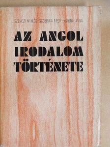 Katona Anna - Az angol irodalom története [antikvár]