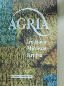 Anga Mária - Agria 2009. ősz [antikvár]