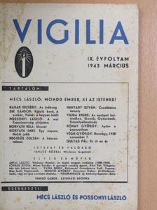 Gulyás Pál - Vigilia 1943. március [antikvár]