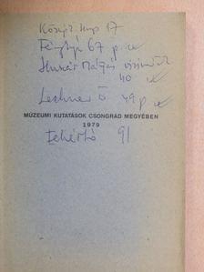 Kürti Béla - Múzeumi kutatások Csongrád megyében 1979 [antikvár]