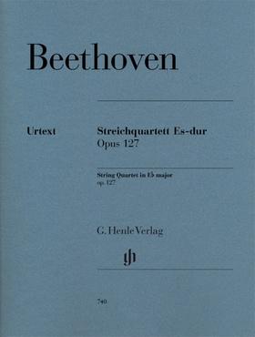 BEETHOVEN - STREICHQUARTETT ES-DUR OP.127 URTEXT (EMIL PLATEN), STIMMEN