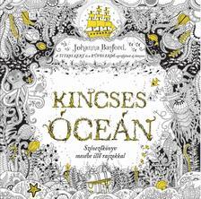 Johanna Basford - Kincses Óceán - Színezőkönyv mesébe illő rajzokkal ***