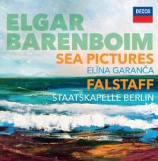 ELGAR - SEA PICTURES / FALSTAFF CD BARENBOIM