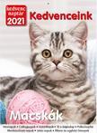 Kedvenc Naptár 2021 Kedvenceink (Macskák)