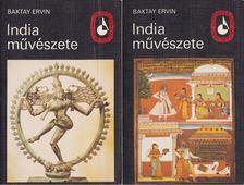 Baktay Ervin - India művészete I-II. [antikvár]