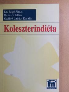 Bencsik Klára - Koleszterindiéta [antikvár]