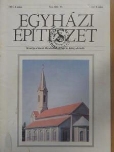 Cs. Varga István - Egyházi építészet 1991/2. [antikvár]