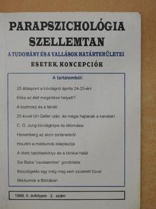 Boros Katalin - Parapszichológia-Szellemtan 1999/2. [antikvár]