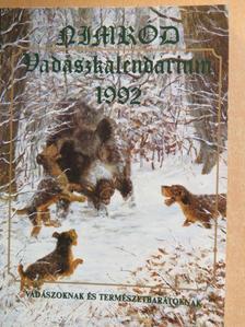Bozóki László - NIMRÓD Vadászkalendárium 1992. [antikvár]
