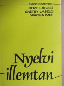 Bachát László - Nyelvi illemtan [antikvár]