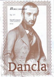 DANCLA - BARCAROLLE OP.157 HEGEDŰ-ZONGORA
