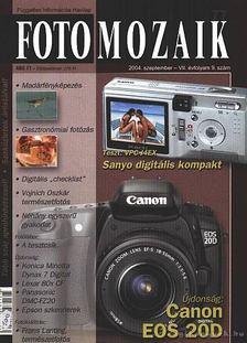 Sulyok László - Foto mozaik 77. 2004. szeptember VII. évfolyam 9. szám [antikvár]