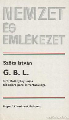 Szőts István - G. B. L. [antikvár]