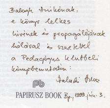 Valachi Anna - József Jolán, az édes mostoha (dedikált) [antikvár]