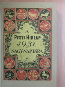 Avercsenko Arkadij - A Pesti Hirlap Nagy Naptára az 1930. közönséges évre [antikvár]