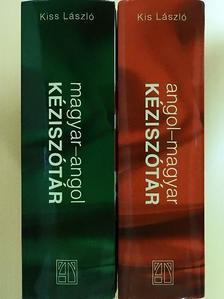 Kiss László - Magyar-angol/angol-magyar kéziszótár [antikvár]
