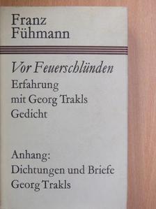 Franz Fühmann - Vor Feuerschlünden [antikvár]