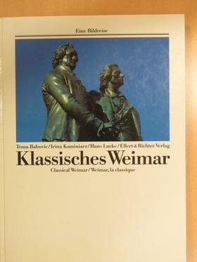 Hans Lucke - Klassisches Weimar [antikvár]