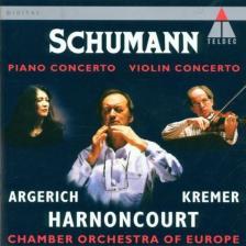 SCHUMANN - PIANO CONCERTO - VIOLIN CONCERTO - CD -