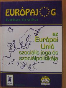 Farkas Orsolya - Az Európai Unió szociális joga és szociálpolitikája [antikvár]