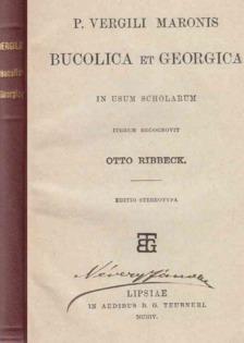 Vergilius Maro, Publius - Bucolica / Georgica [antikvár]