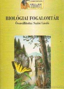Szabó László - Biológiai fogalomtár [antikvár]