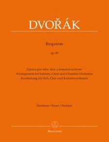 DVORAK - REQUIEM OP.89 PARTITURA