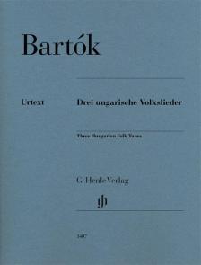 BARTÓK - DREI UNGARISCHE VOLKSLIEDER (SOMFAI LÁSZLÓ)