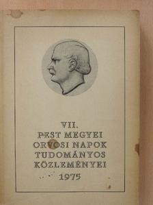 Ács Tamás - VII. Pest megyei orvosi napok tudományos közleményei [antikvár]