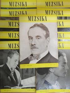 Abody Béla - Muzsika 1959. (nem teljes évfolyam) [antikvár]
