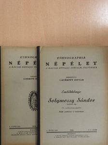 B. Luby Margit - Ethnographia - Népélet 1939/1-4. [antikvár]