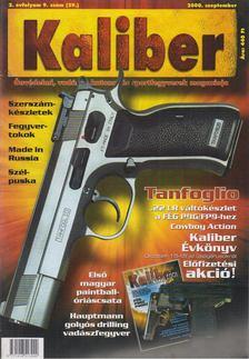Kalmár Zoltán - Kaliber 2000. szeptember [antikvár]