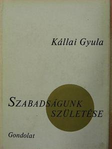 Kállai Gyula - Szabadságunk születése [antikvár]