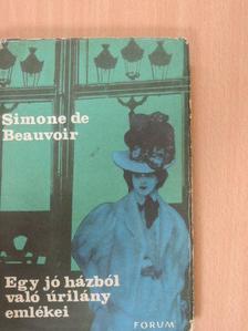 Simone de Beauvoir - Egy jó házból való úrilány emlékei [antikvár]